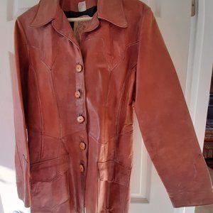 Women's Leather Jacket. Vintage '70's